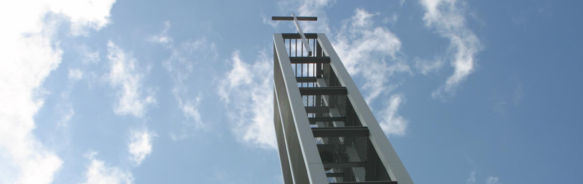 ザビエル教会の鐘楼
